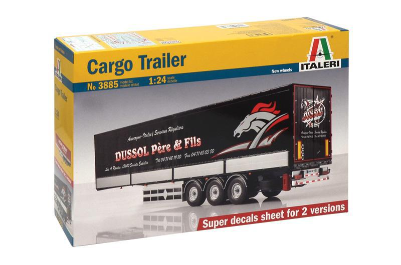 Purchase Cargo Trailer Model Kit 1/24 online - Trailers » Boat House  Collectables