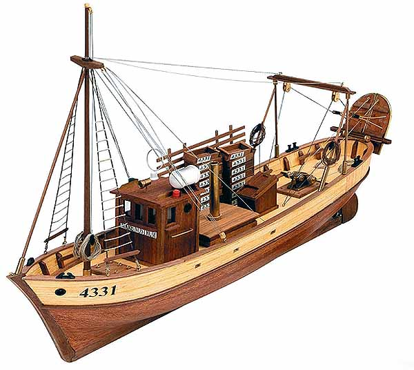 Mare Nostrum Spanish Trawler Wooden Ship (ART 20100) - Artesania Latina » Boat House Collectables