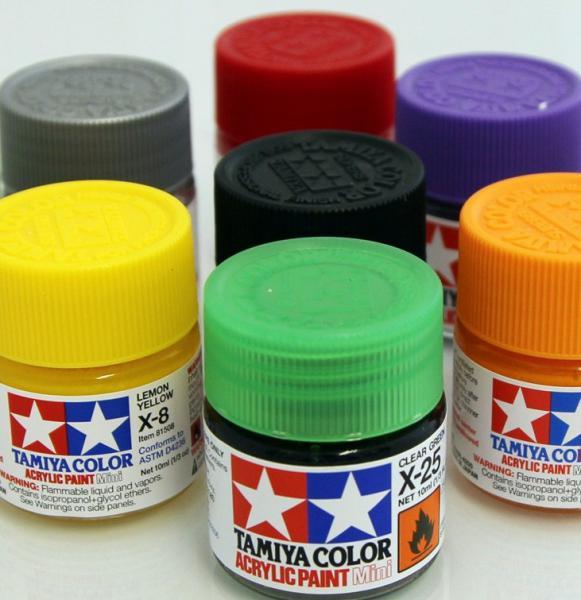 Tamiya Acrylic Paint Gloss